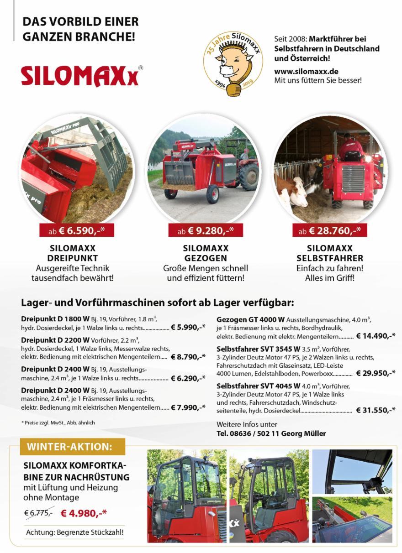 Futtermischer 9401 Innensilo Programm Prospekte GRUBER Hammermühlen